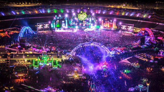 EDCLV main stage designs through the years (2011-2019)