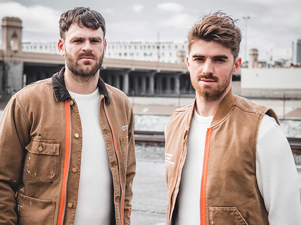 The Chainsmokers have deleted every post on their IG, and this is all that's left